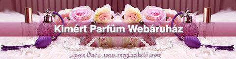 Referencia webáruház készítés, Kimért Parfüm Webáruház