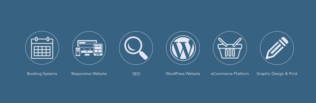 WordPress weboldal jellemzői