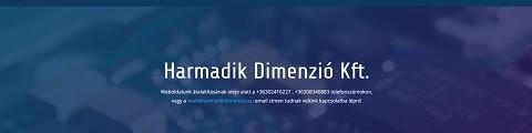 Elkészített referencia webáruház, Harmadik Dimenzió Kft.