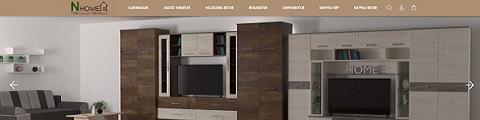 Elkészített referencia webáruház - NHome Bútor Webáruház