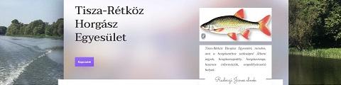 Elkészített referencia weboldal - Tisza-Rétköz Horgász Egyesület