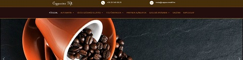 Cappuccino Kft, referencia weboldal